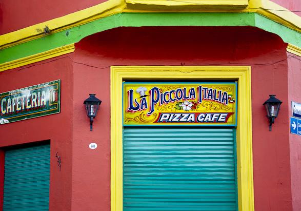 La Boca, Ciminito, Buenos Aires, Argentina, Travel, Tango