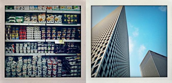 Tel Aviv, Israel, Summer, travel, polaroids