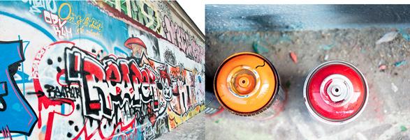 Place de la Nation, Graffiti, Paris, France, Travel