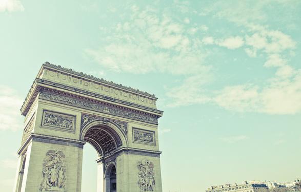 Arc de Triumph, Paris, France, Travel