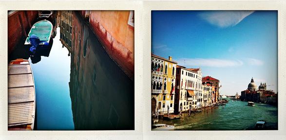 venice, italy, tuscany, polaroids, travel