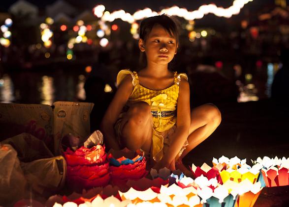 Hoian, Full Moon Lantern Festival, Vietnam