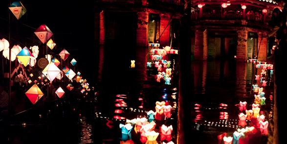 Lunar New Year, Lantern Festival, Full moon, Hoian, Vietnam