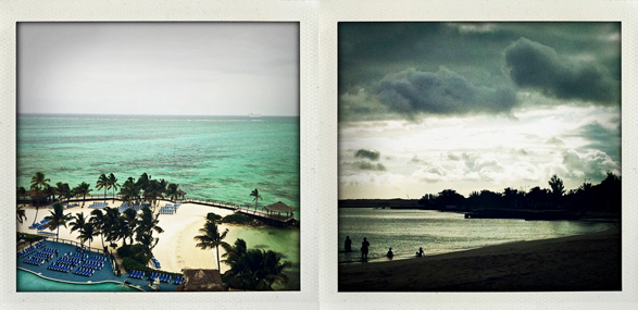Bahamas, Island, Nassau, Birthday, Travel, Polaroids