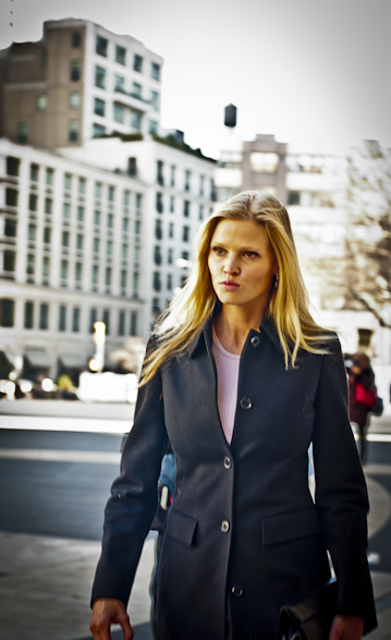 lara stone, ny fashion week