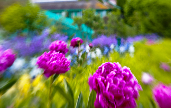 Giverny, France, Travel, Impressionism, Claude Monet, Lens Baby
