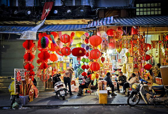Hanoi, Vietnam, Travel, Old Quarter