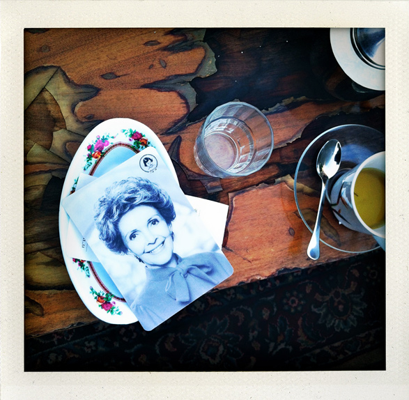 on the Table, Vintage, Tel Aviv, My life in Polaroids