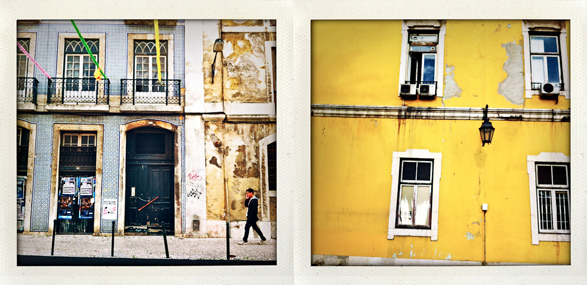 Lisbon, Portugal, My life in Polaroids, Travel