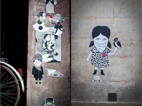 Paris, France, Urban Art, Street Art, Fred Le Chevalier