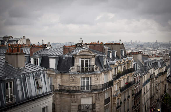 Paris, Travel, France, a room with a view, Montmartre
