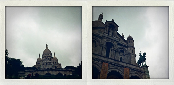 Paris, France, Travel, My life in Polaroids