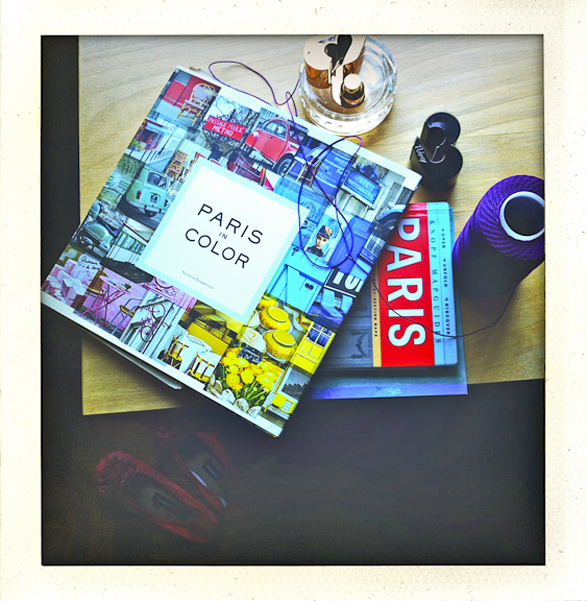 Paris, France, My life in Polaroids, on the Table, Paris in colors