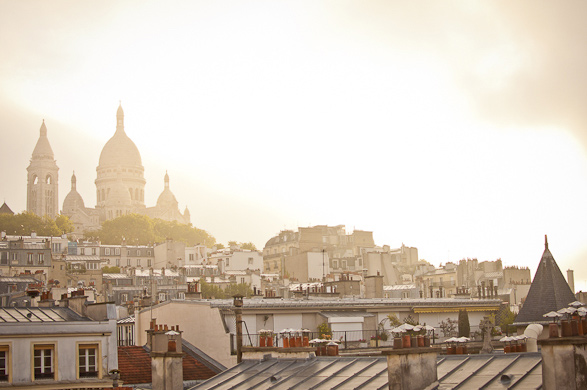 Paris, France, a room with a view, Travel, Rooftop