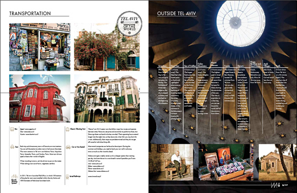 Tel Aviv, Israel, Resource Magazine