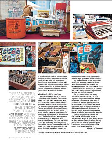 Herald Tribune, Design, Lifestyle, Brooklyn, New York, Vintage