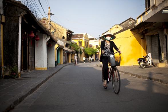 Travel, Window or Aisle, Etienne Bossot, Vietnam, HoiAn