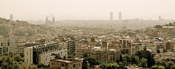 Travel, Rooftop, Photography, Barcelona