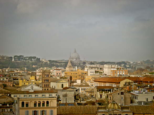 Rooftop, Travel, Photography, Roma