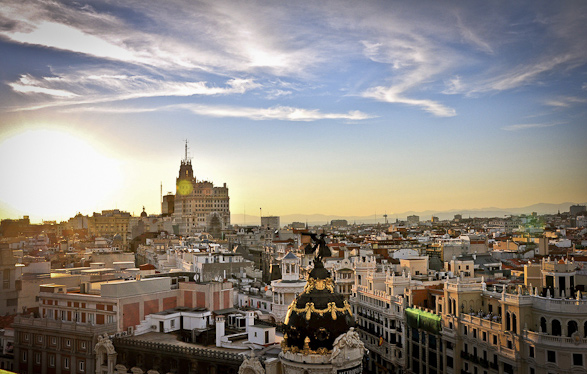 Travel, Rooftop, Photography, Madrid