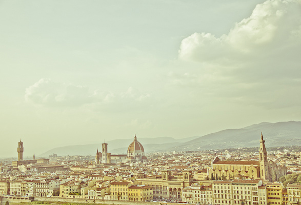 Rooftop, Travel, Photography, Florence