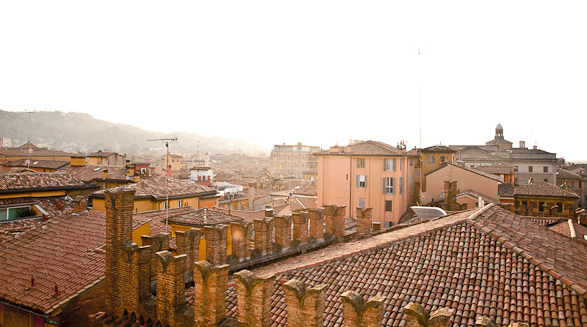 Rooftop, Travel, Photography, Bologna