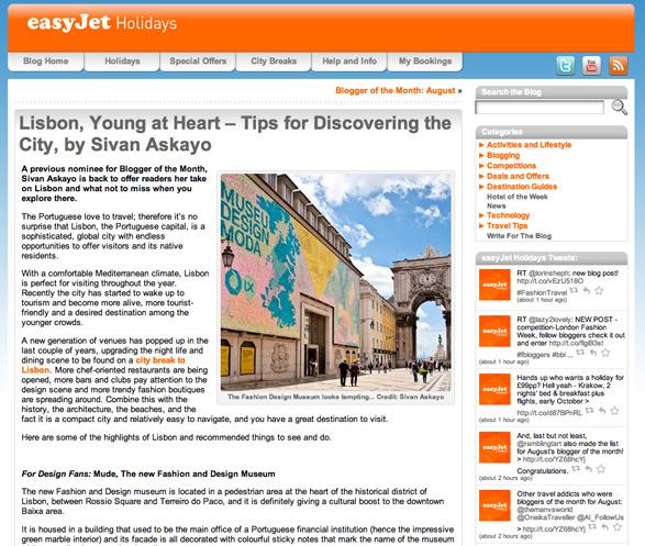 Travel, Lisbon, Portugal, Easy Jet