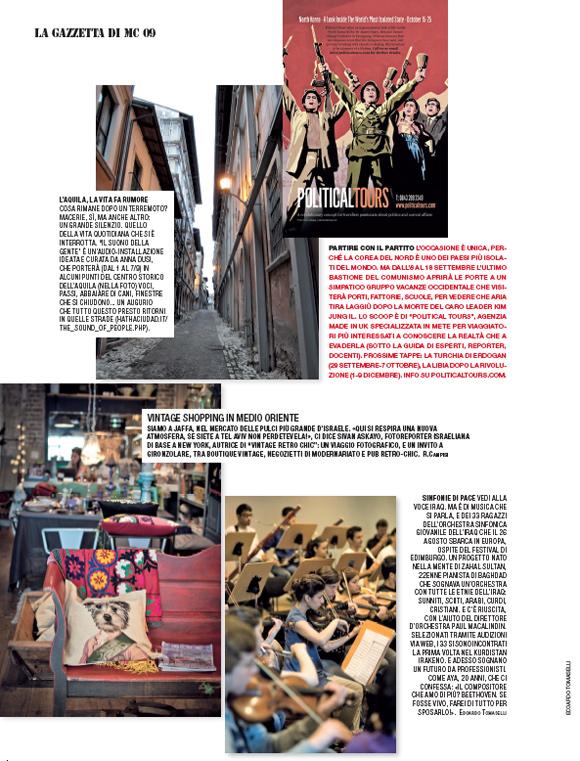 Marie Claire Italia, Flea Market, Jaffa, Tel Aviv, Vintage scene