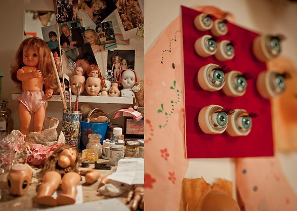 ospedale della bambole, Naples, Napoli, Italy, dolls