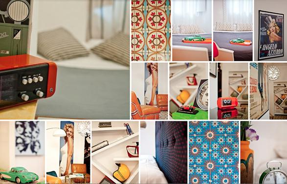 design, lifestyle, Rome, Italy, Vintage, retro