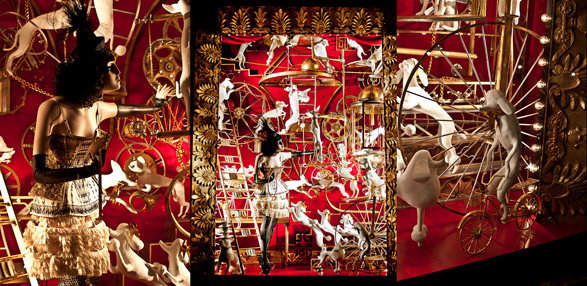 Bergdorf Goodman, Christmas, Window Display, New York, Holiday, 5th Ave