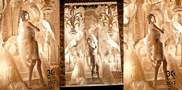 Bergdorf Goodman, Christmas, Window Display, 5th Avenue, New York, Design