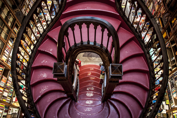 Porto, Portugal, Travel, Lello Book store