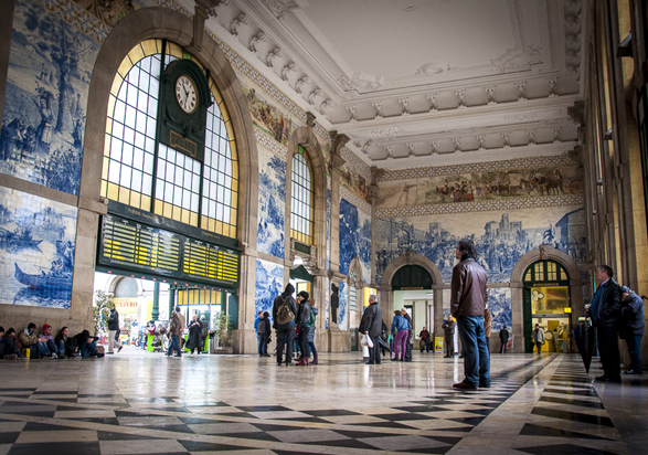 Porto, Portugal, Travel, Sao Bento Railway Station