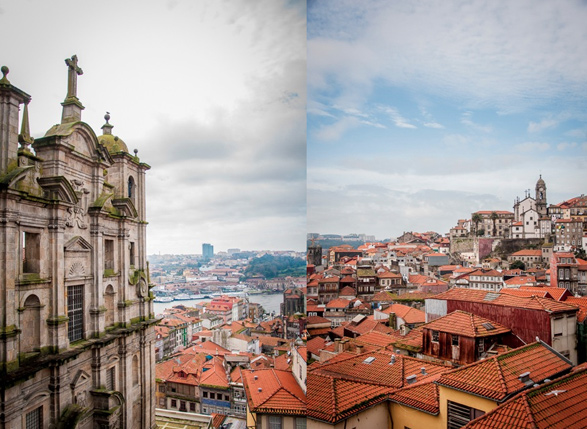 Porto, Portugal, Travel, Rooftops