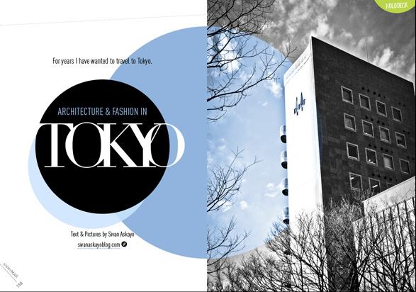SisterMag, Tokyo, Japan, Architecture, Fashion
