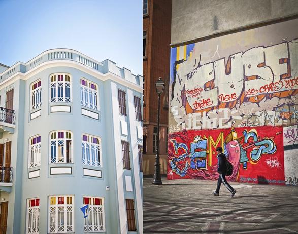 Tel Aviv vs Paris, Trendy neighborhood