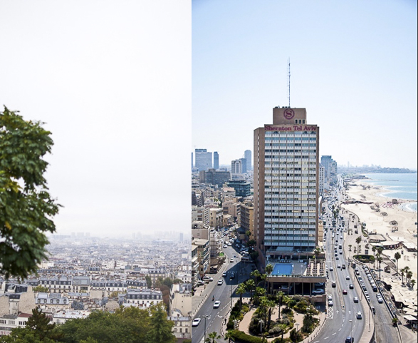 Tel Aviv vs Paris, City Overview