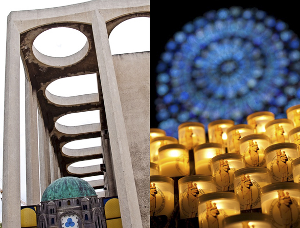 Tel Aviv vs Paris, Holly Places, Notre Dame