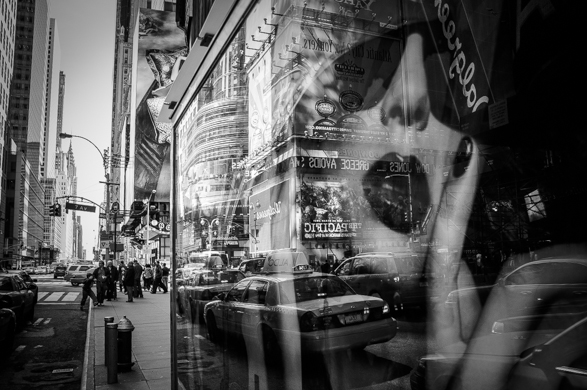 Guillaume Gaudet, NY Noir, Window or Aisle