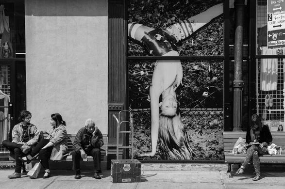 Guillaume Gaudet, NY, Manhattan, Noir
