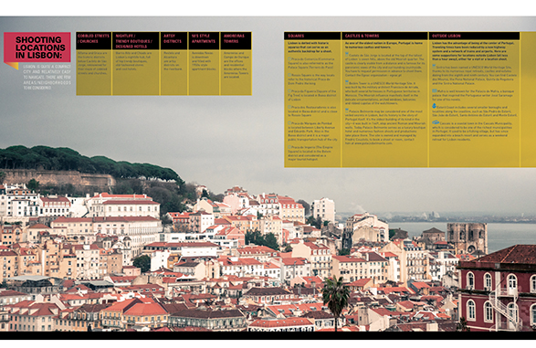 Lisbon, Production of the world, travel, resource magazine