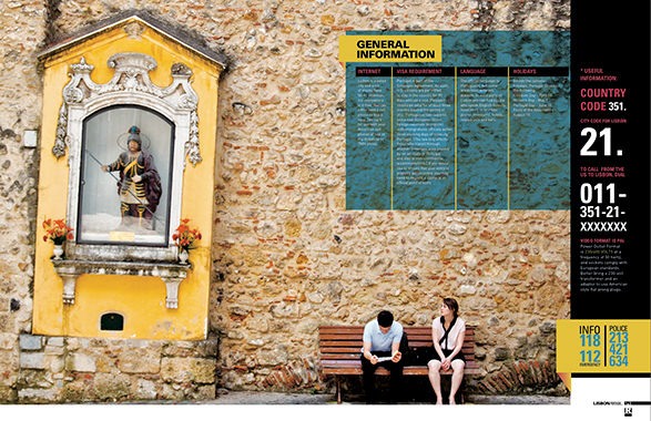 Lisbon, Production of the world, travel, resource magazine