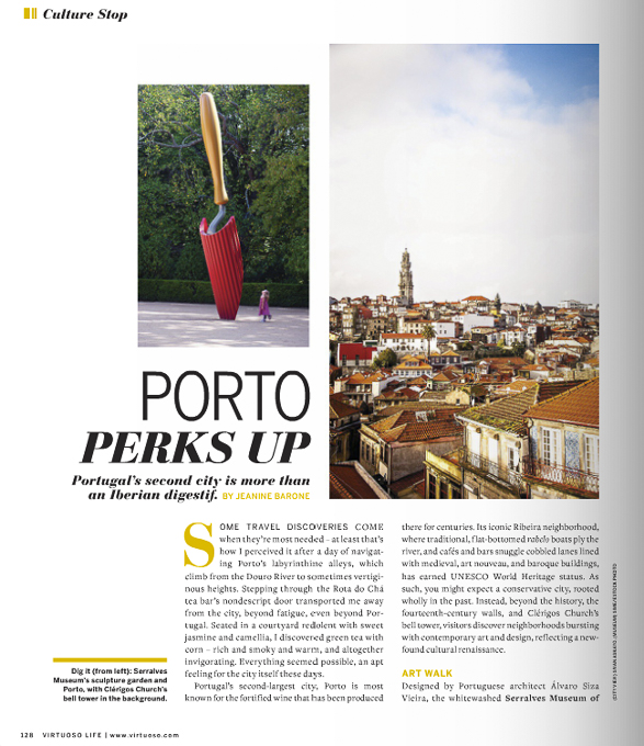Virtuoso Life Magazine, Travel, Porto, Portugal
