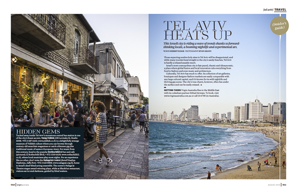 Voyeur Magazine; Tel Aviv Heats Up