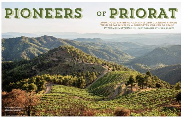 Pioneers of Priorate, Spain