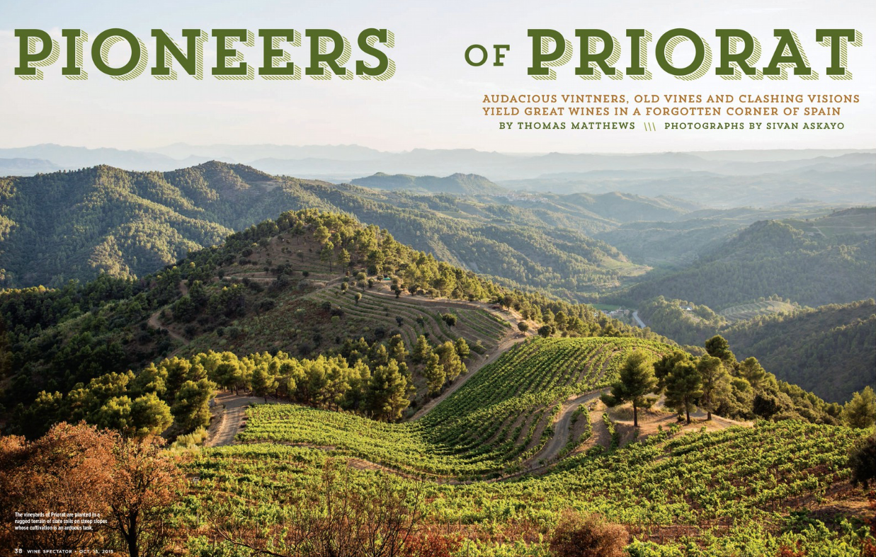 Priorat Region for Wine Spectator