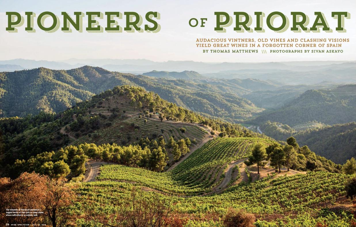 Priorat Region for Wine Spectator