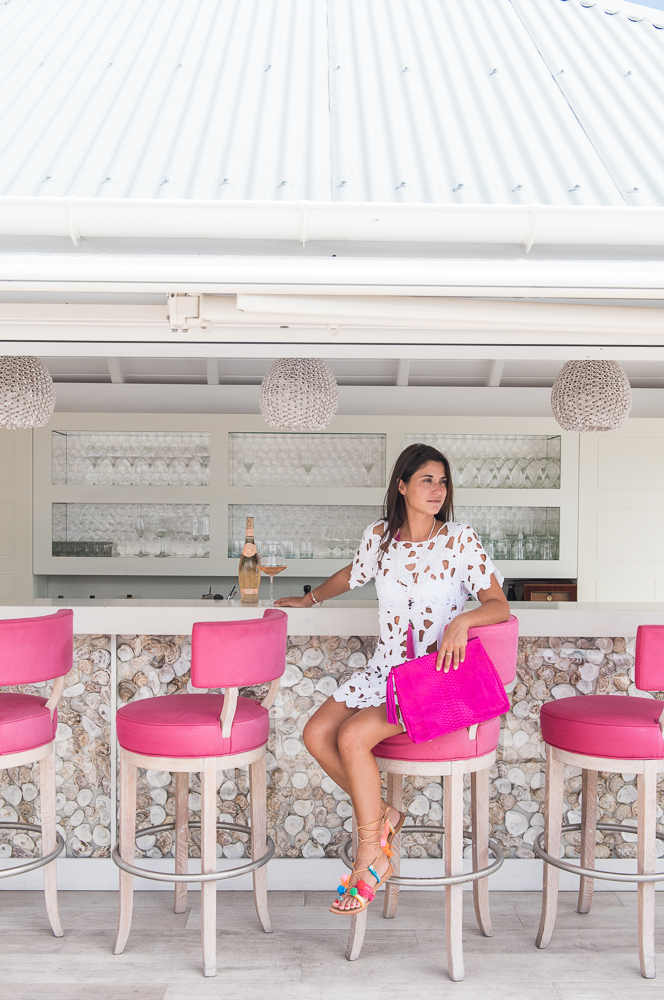 Outdoor Bar, Hotel Le Toiny, St. Barth